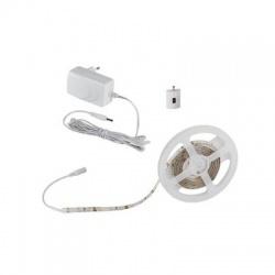 7,5W/m, IP54, dĺžka 1,5m, LED set s napájaním a bezdrôtovým vypínačom, teplá biela