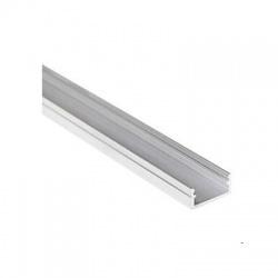 PROFILO J lišta k LED pásom, dĺžka 1m, hliník