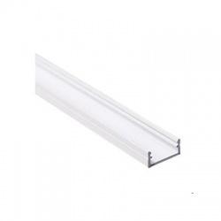 PROFILO J lišta k LED pásom, dĺžka 1m, biela