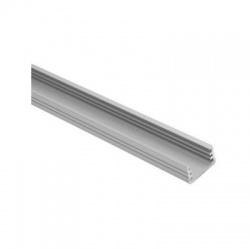 PROFILO B lišta k LED pásom, dĺžka 1m, hliník