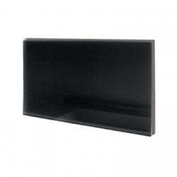 GR 500 sálavé sklenené panely 500 W - čierna