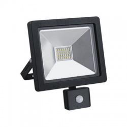 WM-20WS-G 20W SLIM LED reflektor, so senzorom, čierny