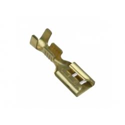 6,3x0,8mm, 1-2,5mm2, konektor neizolovaný s poistkou