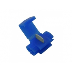 0,75-2,5mm2 svorka, izolovaná, modrá