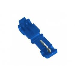 0,75-2,5mm2, záverová svorka, izolovaná, modrá