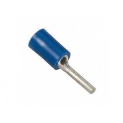 2,5-4mm2, lisovací kolík izolovaný, modrý