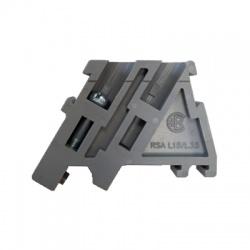 Koncová zvierka RSA L 35 pre RSA 2,5 A - 16 A, sivá