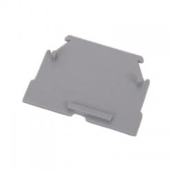 Koncová prepážka pre svorku RSA 2,5 A, sivá
