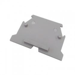 Koncová prepážka pre svorku RSA 4 A, sivá