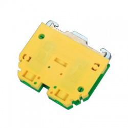 Radová svorka RSA 10 A, zelenožltá