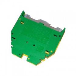 Radová svorka RSA 16 A, zelenožltá