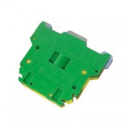 Radová svorka RSA 2,5 A, zelenožltá