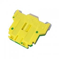 Radová svorka RSA 4 A, zelenožltá
