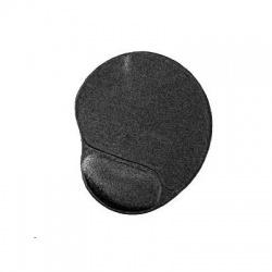 Podložka pod myš s gélovou opierkou, čierna