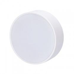 WD127 16W LED panel s tenkým rámčekom, okrúhly, teplá biela, biely