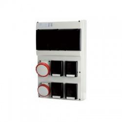 Zás.rozv.4x230V+1x16A+1x32A IP66 4-pólová