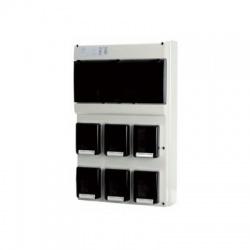 Zás.rozv.6x230V IP66