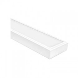 OREGA N LINX LED panel, hranatý, studená biela, biely