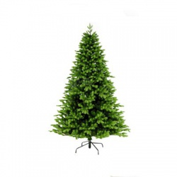 Umelý vianočný stromček, 210cm, 3D+2D