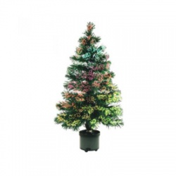Umelý stromček s optickými vláknami, 120cm,