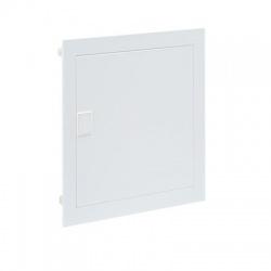 4x12 modulov, IP30, zápustná kovo-plastová rozvodnica, biele dvere