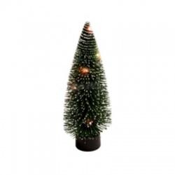 Umelý vianočný stromček s LED, 30cm