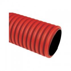 KD 09125 BC chránička 125 tuhá KOPODUR, bezhalogénová, červená
