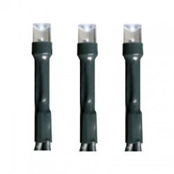 LED 105 vianočná svetelná reťaz DUAL COLOR, teplá biela/farebná