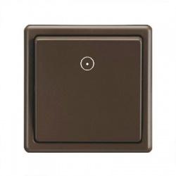 DS 1106-10 vypínač č.1/0, hnedý