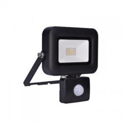 WM-10WS-L 10W LED reflektor, PRO so senzorom, 850lm, 5000K, IP44
