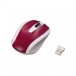 AM-7200 bezdrôtová myš, bielo-červená