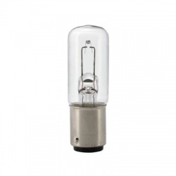 LWT-L1T 6V 15W BA15D 17x53mm, žiarovka do mikroskopu