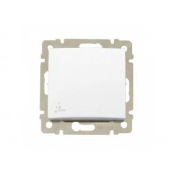 770097 Valena vypínač č.7, IP44, biely