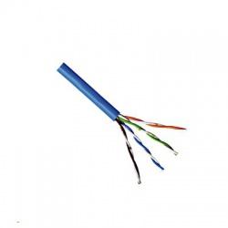 UTP kábel 4x2xAWG24 Cat.5e, PVC plášť, modrý