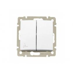 770098 Valena vypínač č.5B IP44, biely
