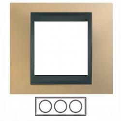 3-rámik, matná meď/grafit, MGU66.006.296