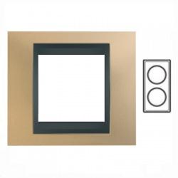 2-rámik, matná meď/grafit, MGU66.004V.296