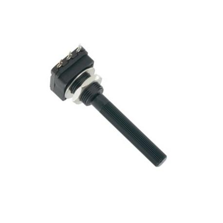 Otočný potenciometer LIN oska D6x45mm
