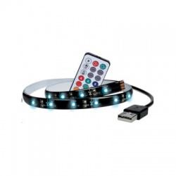 LED RGB pásik pre TV, 2 x 50cm, USB, vypínač, diaľkový ovládač