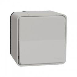 Vypínač r.6, komplet, IP55, biely