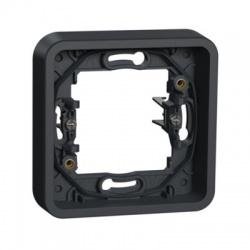 1-násobný rámik, s rozperkami, IP55, antracit
