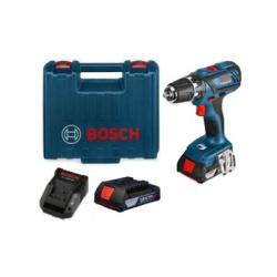 GSB 18-2-LI Plus 18V, AKU vŕtačka, 2x2,0Ah, Bosch, kufor