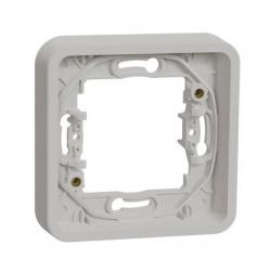 1-násobný rámik, IP55, biely