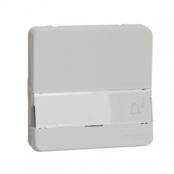 Vypínač r.1/0So, IP55, so štítkom, biely