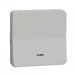 Vypínač r.1/0So, s orientačnou kontrolkou, IP55, biele