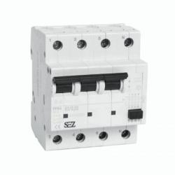 Prúdový chránič 63A, 4-pólový, 30mA, 10kA