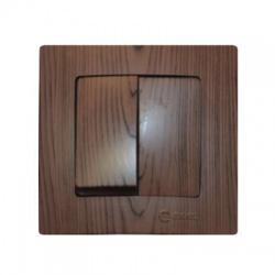 32102103 Lillium vypínač č. 5, tmavé drevo