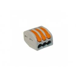 0,08-4mm2, 32A, 3-pólová svorka s páčkou