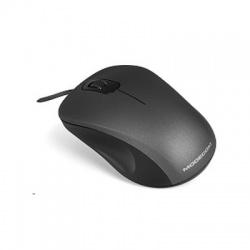 M-MC-M10S-100 optická myš, Silent Black(čierna)