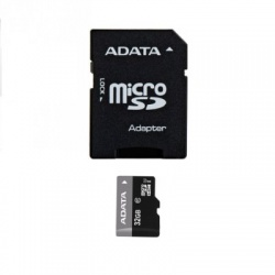 32GB microSDHC karta ADATA Premier UHS-I U1+ adaptér